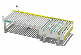 Right angle transfer conveyor - Westfalia Technologies