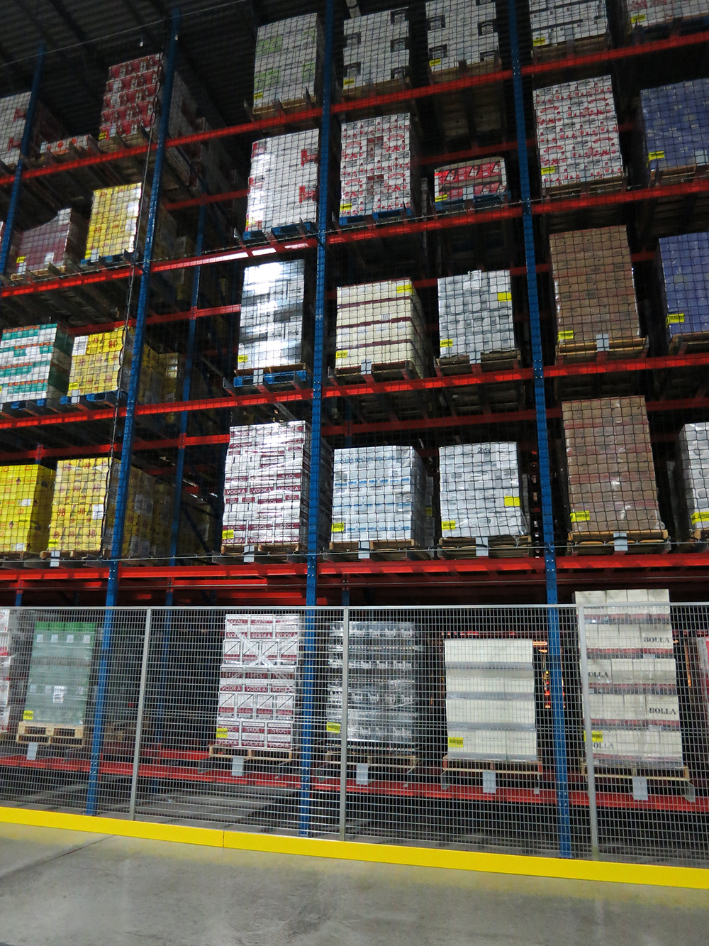 Westfalia pallet racking storage solution