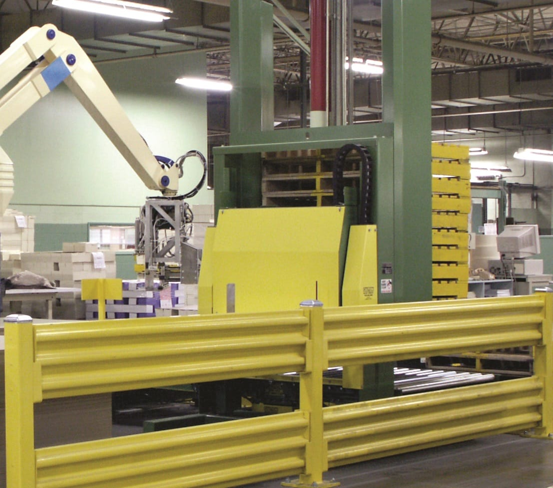 Case Study: Westfalia Technologies Makes The Grade With A Robotic Palletizing System for Maple-Vail