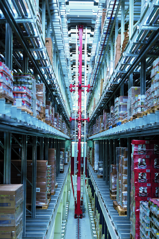 automated storage and retrieval system (asrs) - westfalia
