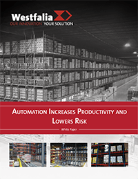 Automation increases productivity and lowers risk