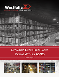 Optimizing Order Fulfillment: Picking With an AS/RS