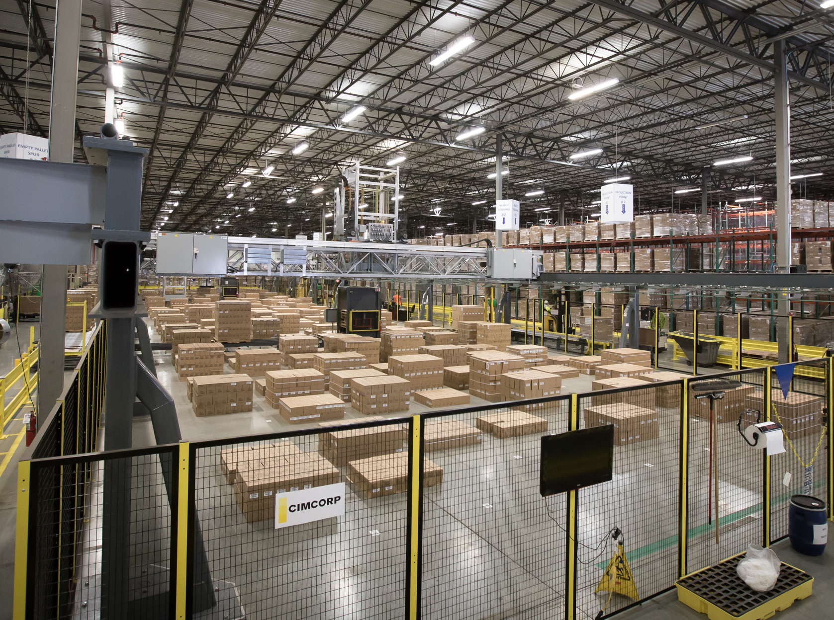 what is warehouse automation