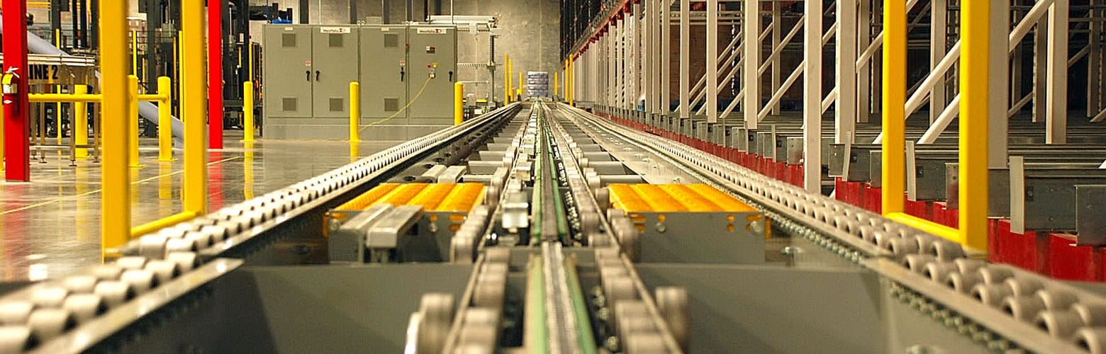 Automated Conveyor System Warehouse Conveyor System Westfalia Technologies Inc