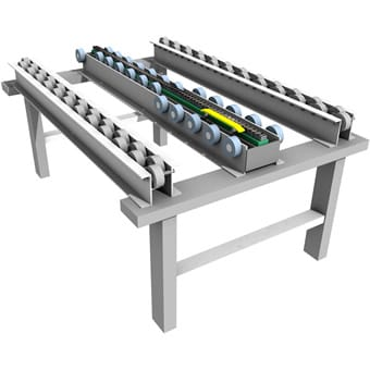 Air-Chain Accumulation Conveyor