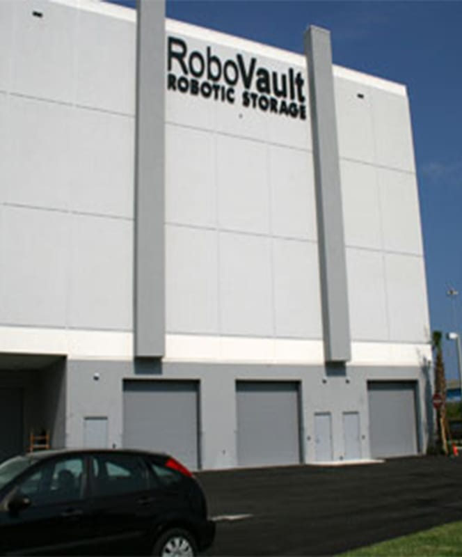 Case Study: RoboVault introduces a state-of-the-art automated self storage facility
