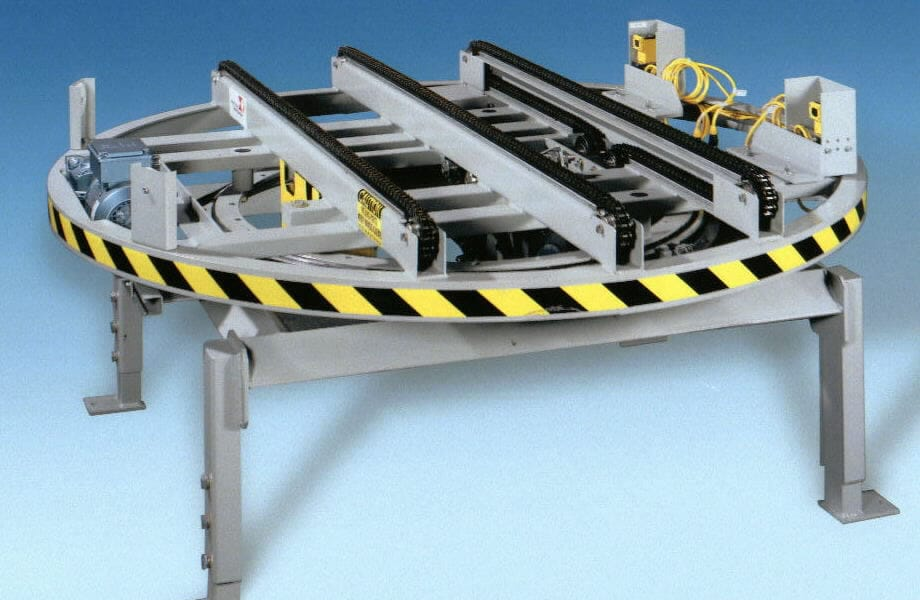 Automated Warehouse Conveyor Systems From Westfalia