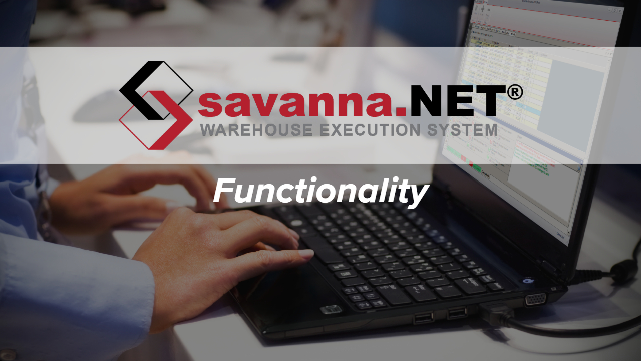Savanna.NET® WES Functionality