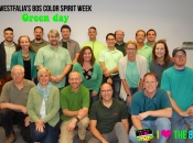 Westfalia's 80s colors spirit week - green day!