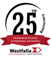 Westfalia Technologies Celebrates Its 25th Anniversary