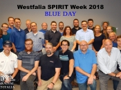 Westfalia Spirit Week - wear blue day!