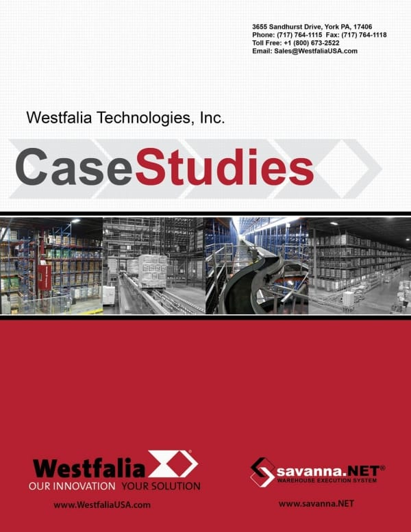 Westfalia Case Study Brochure