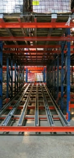 Fifo Pallet Racking System First In First Out Method