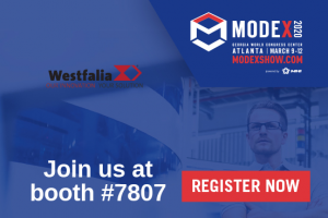 Westfalia to present at Modex 2020