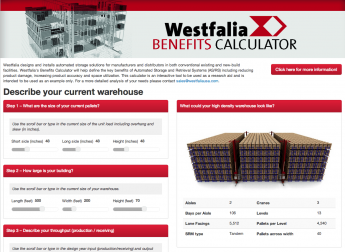 Westfalia's Benefits Calculator