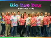 Westfalia donated to the Children's Miracle Network for every employee that wore tie-dye!
