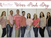 The Westfalia team came together for Breast Cancer Awareness on wear pink day to show their support in the fight against breast cancer.