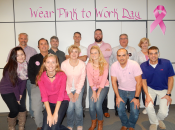 The Westfalia team came together for Breast Cancer Awareness on wear it pink day to show their support in the fight against breast cancer.